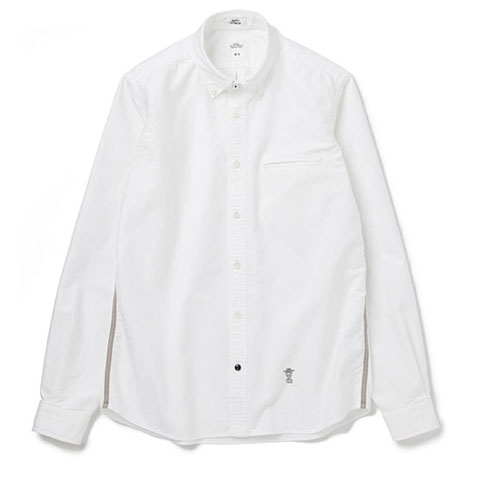 BEDWIN L/S B.D SIDE TAPE OX SHIRT FADED BRIAN