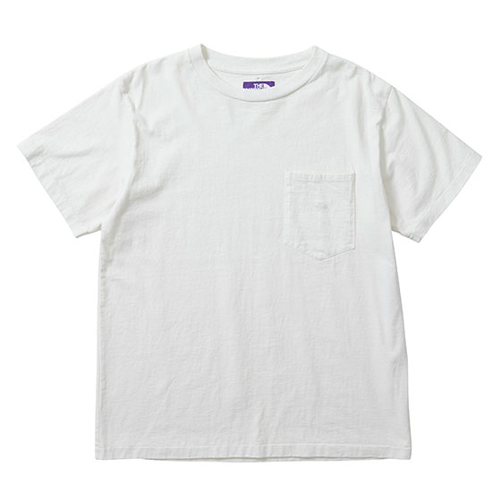 the_north_face_purple_label_7oz_h/s_pocket_tee_nt3803n